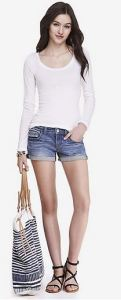 express denim short
