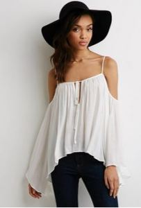 flowy top forever 21
