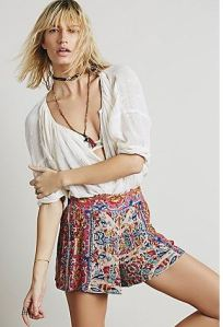 printed short free people