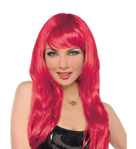 red wig