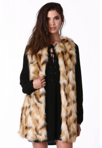 Necessary Clothing Fur Vest